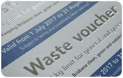 Brisbane Waste Voucher